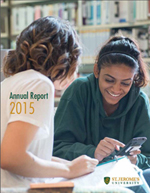 Cover page of annual report 2015