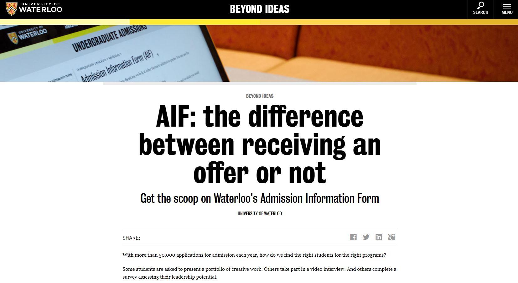 AIF Blog