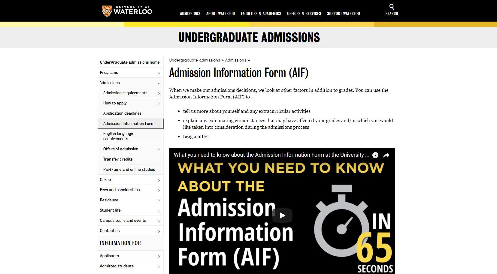 AIF Info