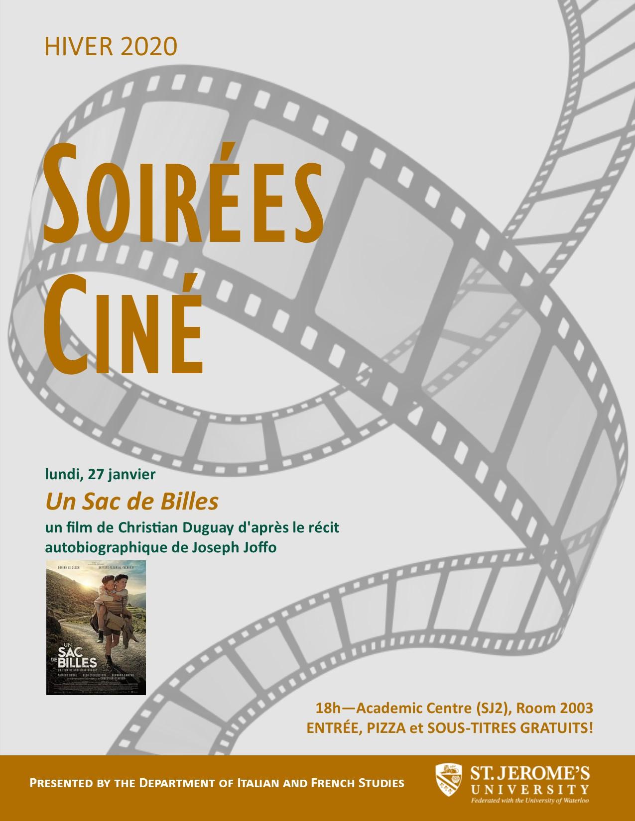 Cine Soiree Winter 2020 Films