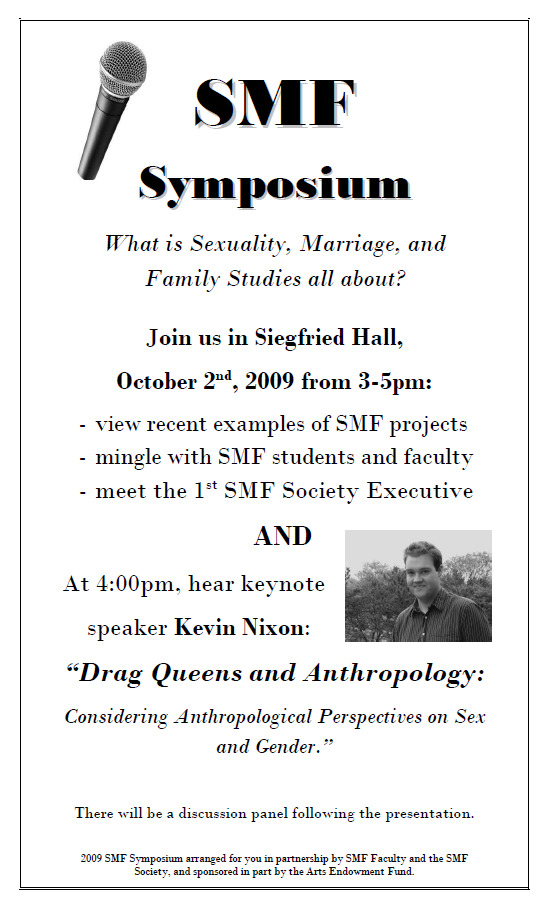 Picture of 2009 SMF Symposium Poster