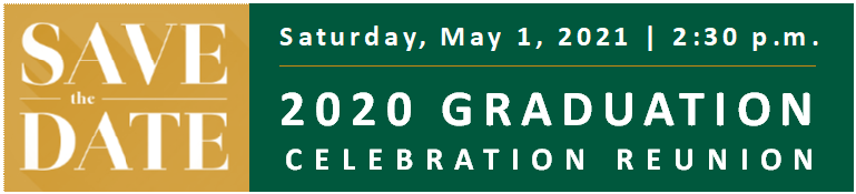 Save the Date Saturday, May 1, 2021
