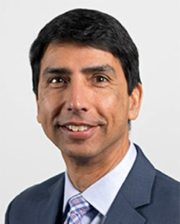 SJU Chancellor Bruce Rodrigues