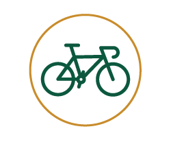 Icon for a bicycle