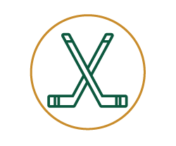 Icon of Hockey Sticks