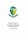 SJU Financial Statements Ending 2013
