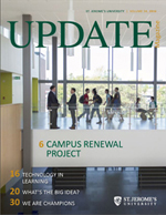 Magazine cover for UPDATE 2016
