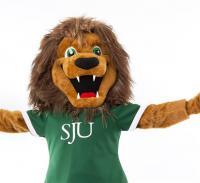 St. Jerome's Lion Mascot