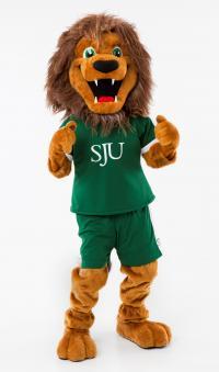 St. Jerome's mascot Jerome