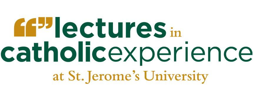 Image of text lectures in catholic experience at St Jerome's University
