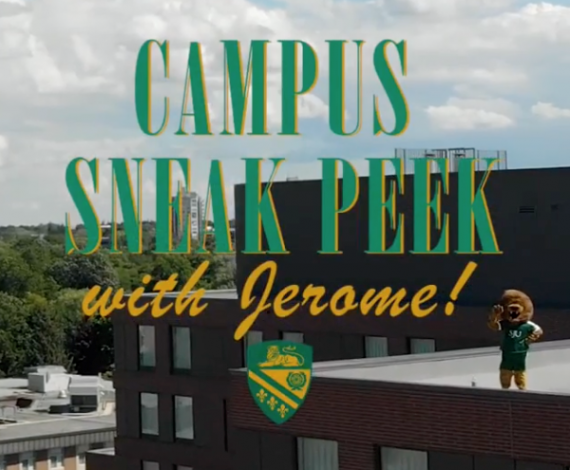 Campus Sneak Peek with Jerome