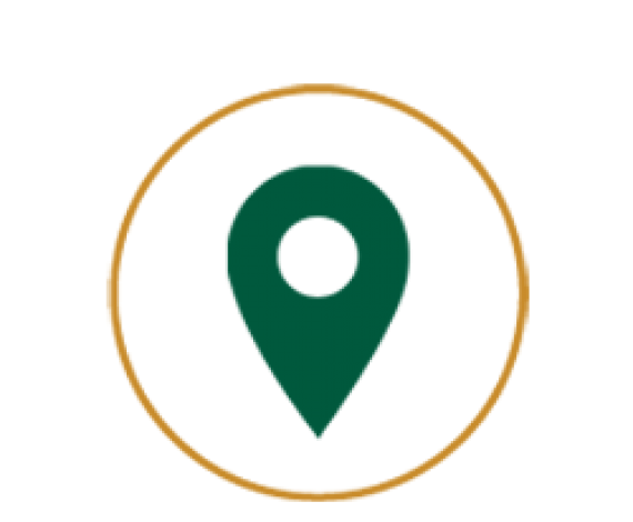 Icon of a location pin as VISIT US