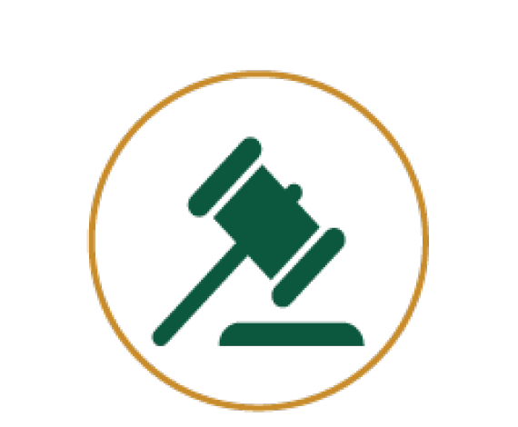 Icon of a gavel