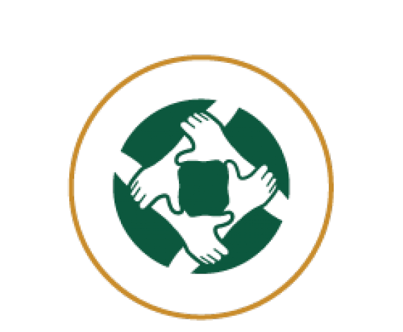 Icon for people holding each other hands