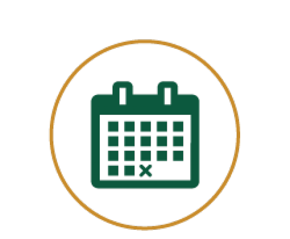Icon of a Monthly Calendar