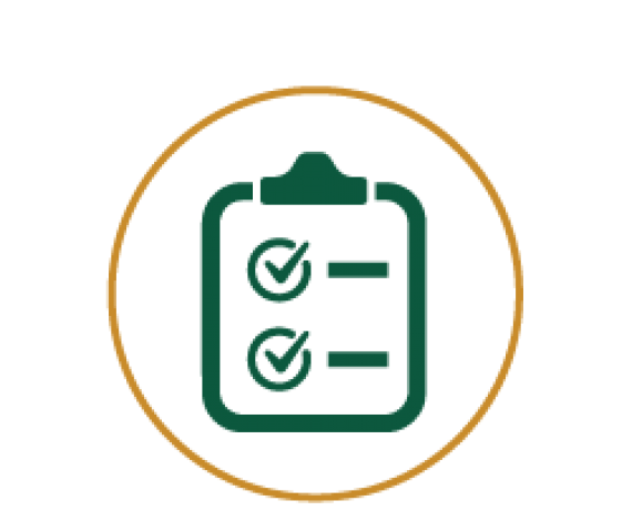 Icon for check list board