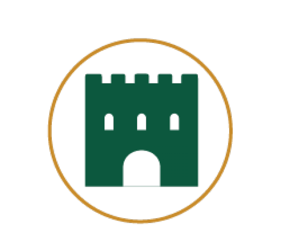 Icon for a medieval aged fort