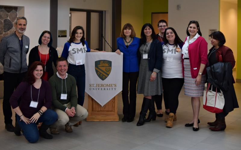 SMF staff with Dr. Jean Kilbourne