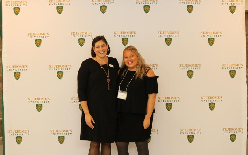 Picture of Assistant Prof. Denise Whitehead with SMF speaker