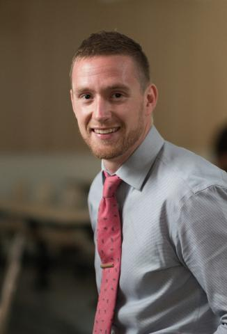 Image of Zack MacDonald, Librarian at SJU