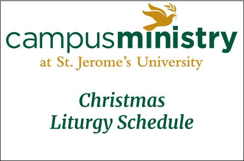 Featured photo for Campus Ministry Christmas Liturgy Schedule